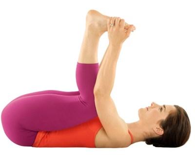 йога для похудения ног - ананда баласана