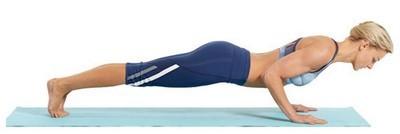 йога для стройности и похудения - чатуранга дандасана
