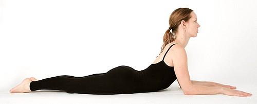 Ардха Бхуджангасана - поза сфинкса в йоге