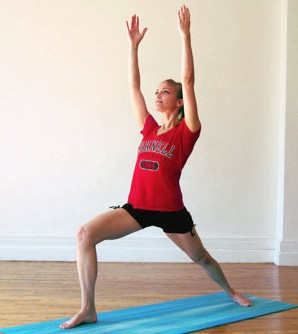 йога для похудения ног