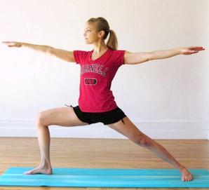 йога для похудения ног и бедер