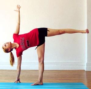 йога для похудения ног 2