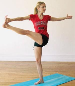 йога для похудения ног 3