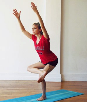 йога для похудения ног 4