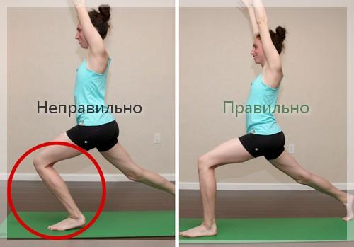 йога для коленных суставов